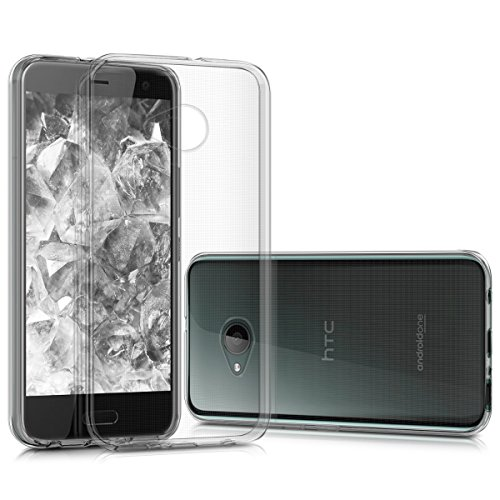kwmobile Hülle kompatibel mit HTC U11 Life - Hülle Handy - Handyhülle in Transparent