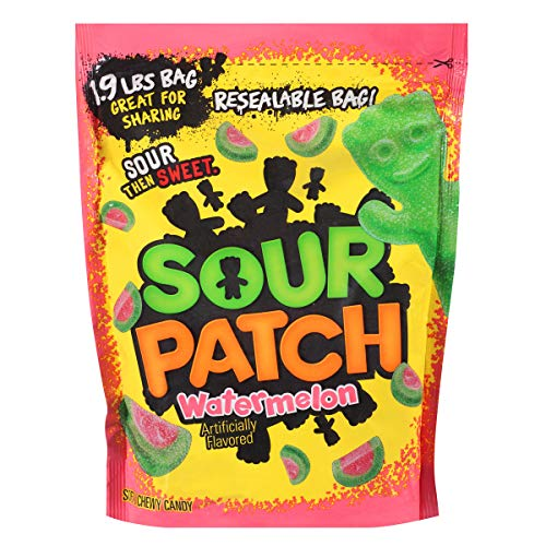 Sour Patch Soft & Chewy Candy Watermelon, 30.4-ounces(1.9 lbs)