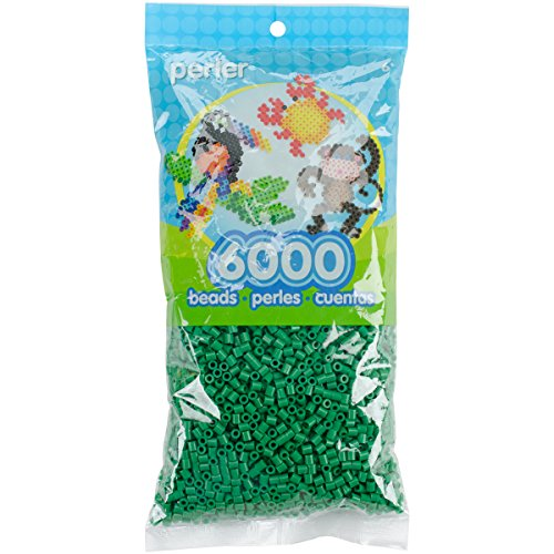 Perler Beads Fuse Beads for Crafts, 6000pcs, Dark Green
