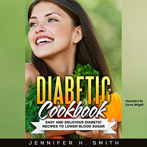 Diabetic Cookbook audiobook cover art