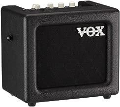 VOX MINI3 G2 Battery Powered Modeling Amp, 3W, Black (MINI3G2BK)