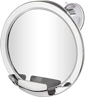 Gotofine 曇らないミラー 風呂鏡 防曇鏡 シャワーミラー 浴室鏡 強力吸盤付き 角度調整可能