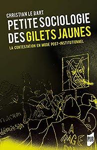 Petite sociologie des Gilets jaunes : La contestation en mode post-institutionnel par Christian Le Bart