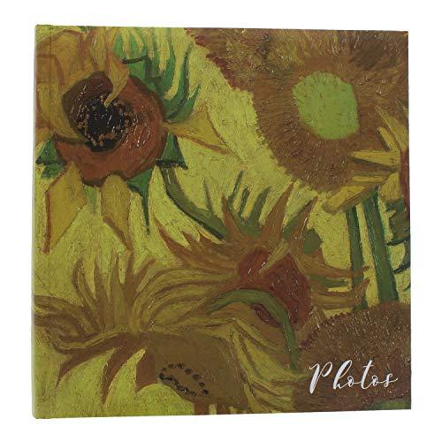 Van Gogh Álbum de fotos | Regalos para mujeres | Papelería de oficina | Regalos de cumpleaños para mujeres | Libro de fotos | Regalo para ella | Libro de memoria