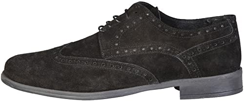 zapatos Basse Stringate hombres negro (Ariel) - Pierre Cardin