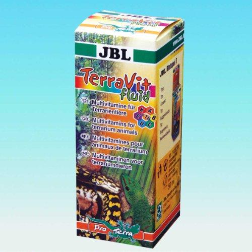 JBL TerraVit fluid Multivitamine für Terrarientiere 50 ml