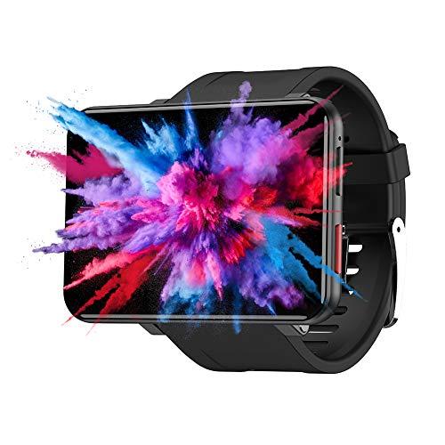 Belupai LEMFO LEMT 4G - Reloj Inteligente (Pantalla Grande de 2,8 Pulgadas, cámara de 2700 mAh, 5 MP, GPS, Llamadas y frecuencia cardíaca)