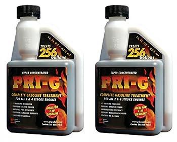 2 PACK of 16 oz PRI-G Fuel Stabilizer- Gasoline