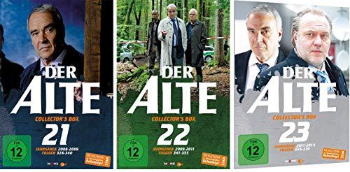 Der Alte - Collector´s Box Volume 21-23 (Folgen 326-370) im Set - Deutsche Originalware [15 DVDs]
