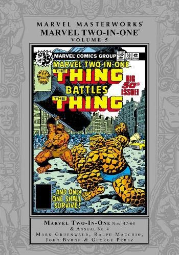 MMW MARVEL TWO IN ONE HC 05 (Marvel Masterworks)