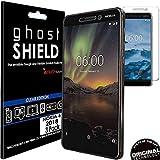 TECHGEAR [3 Pack] Protection Écran pour Nokia 6.1 [ghostSHIELD] Film de Protection Souple en TPU...