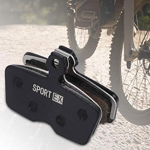 DAUERHAFT La Pastilla de Freno de Disco agrega protección Adicional Mejor disipación de Calor, para Bicicleta Code R