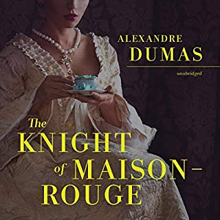 The Knight of Maison-Rouge audiobook cover art