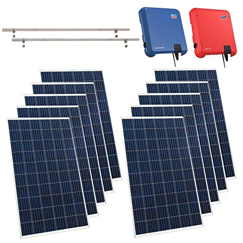 Viessmann PV-Anlage 8,40 KWp Vitovolt 300 Solaranlage Polykristallin Photovoltaik Solarmodule