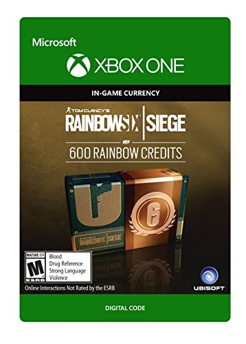 Tom Clancy's Rainbow Six Siege Currency pack 600 Rainbow credits - Xbox One [Digital Code]