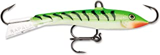Rapala Jigging Rap 09 Fishing lure, 3.5-Inch, Glow Green Tiger