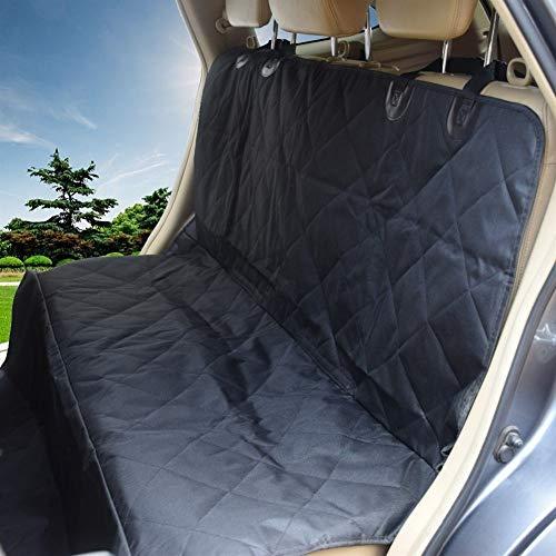 Funda de asiento para mascotas Asiento impermeable Oxford perro de coches Hamaca Cubre asiento del recorrido del perro trasera del asiento de coche del perro del protector de Auto Accesorios de viaje