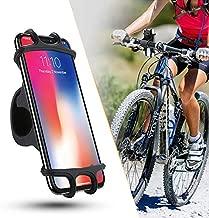 Silicone Adjustable Bike Phone Holder Anti-Shock Phone Holder Clip Stand GPS Mount Bracket for Bicycle Phone Holder Phone