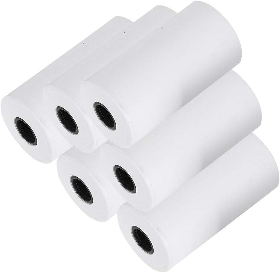 6 Roll 57x30mm Thermal Max 65% OFF Small Receipt Print Paper 5 popular