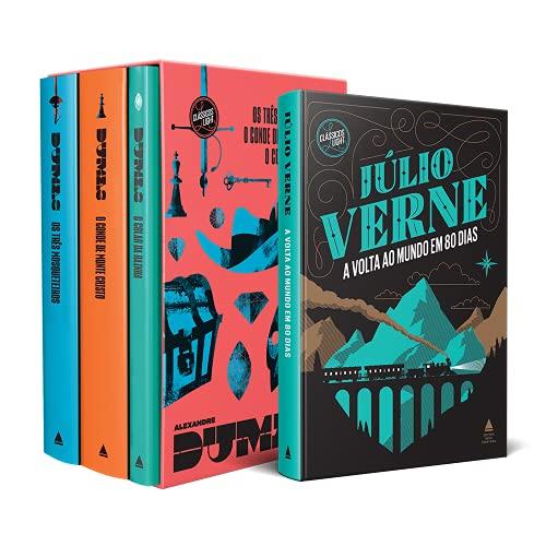 Kit Box Alexandre Dumas + A Volta ao Mundo em 80 dias