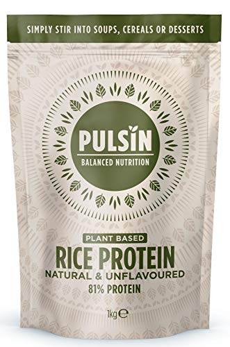 Pulsin Rice Protein Powder 1kg