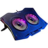 Best Laptop Cooling Pads - KLIM Halo + Laptop Cooling Stand with RGB Review