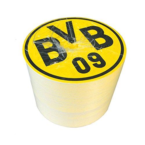 Unbekannt Borussia Dortmund Bierdeckel 50er Set, BVB - Plus Lesezeichen I Love Dortmund