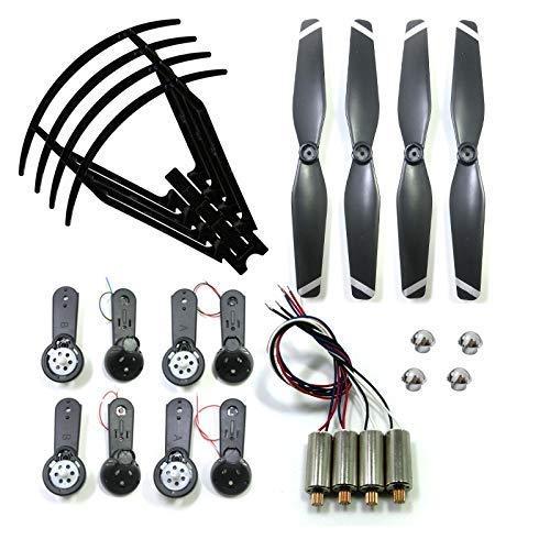 Accessori per droni per SG900 SG900-S Telaio protettivo dell elica Coperchio fisso dell elica Ingranaggi per braccio ad ala pieghevole Motore motore Accessorio per quadricotteri drone RC Accessori per