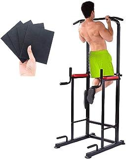 TimeSport チンニング 懸垂マシン ぶら下がり健康器 マルチジム2019改良強化版 多機能筋力トレーニング器具 背筋 腹筋 大胸筋 耐荷重150kg [メーカー1年保証]