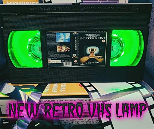 Retro-Lampe, Poltergeist Horror; tolles Geschenk für jeden Film-Fan, Männer-Höhlen-Ideen, USB-betrieben, mit Fernbedienung