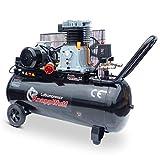 KnappWulf Kompressor KW3300 Druckluftkompressor 100L Kessel Riemenantrieb 400V mit 320L Liefermenge