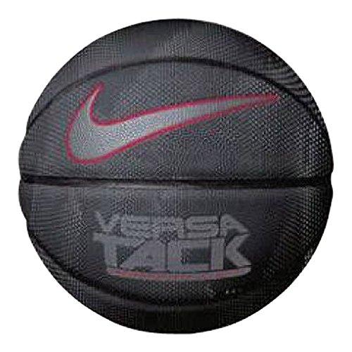 Nike Erwachsene Versa TACK 8P Basketball, Black/University Red/Cool Grey, 7