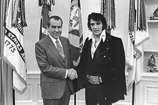 New 5X7 Photo: Elvis Presley & President Richard Nixon