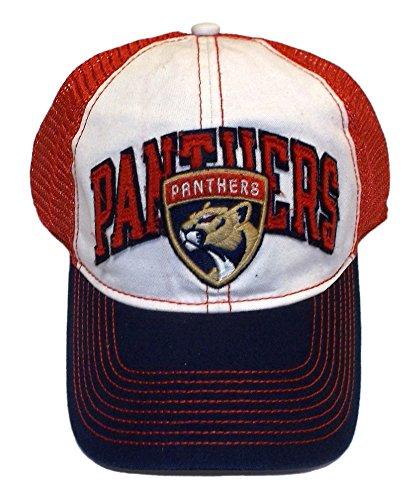 Reebok Florida Panthers Flex Mesh Back Slouch Hat - L/XL - EW43Z