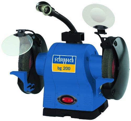 Scheppach 4903105901 Schleifmaschine bg 200  0.55 kW  230V/50Hz