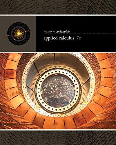 Bundle: Applied Calculus, Loose-leaf Version, 7th + WebAssign Printed Access Card, Single-Term