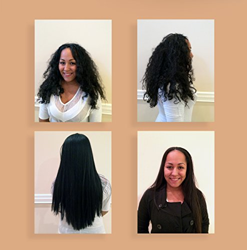 Professional Keratin Blowout Treatment LARGE SET Specifically Designed for Coarse Curly Black, african, Dominican and Brazilian Hair types Super Enhanced Formula