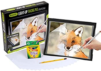 Crayola Light Up Tracing Pad With Eye-Soft Technology