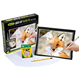 Crayola Light Up Tracing Pad with Eye-Soft Technology, Amazon Exclusive, Easter Gift, Ages 6, 7, 8, 9, 10