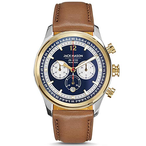 Jack Mason Nautical Chronograph Two-Tone...