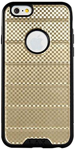 LAX Gadgets – Carcasa para iPhone 6, diseño Delgado y Protector, Dorado