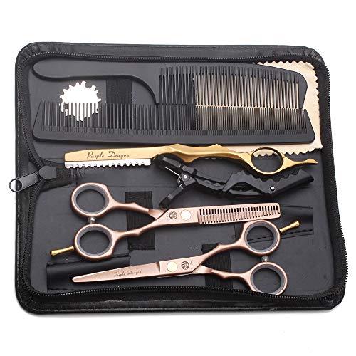 Tijeras de peluquería profesionales de 5.5 pulgadas juego de tijeras de peluquería...