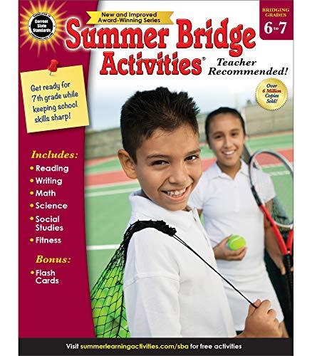 Price comparison product image Summer Bridge Activities / Bridging Grades 6-7 / Summer Learning Workbook / 160pgs