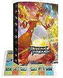 Album Classeur Porte Titulaire Carte Compatible Avec Cartes Pokemon V, Classeur portable pour cartes à collectionner, 24 pages peuvent contenir 432 cartes (432P-3)