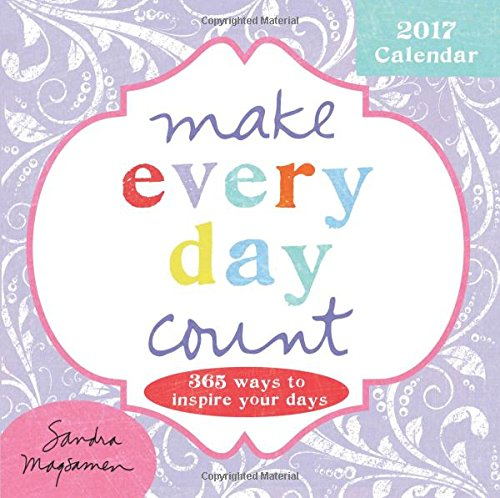 2017 Make Every Day Count Boxed Calendar: 365 Ways to Inspire Your Days