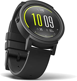 (Renewed) Ticwatch E most comfortable Smartwatch-Shadow,1.4 inch OLED Display, Android Wear 2.0,Compatible with iOS and Android, Google Assistant