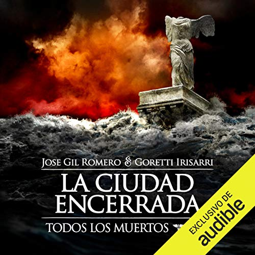 Diseño de la portada del título La Ciudad Encerrada (Narración en Castellano)