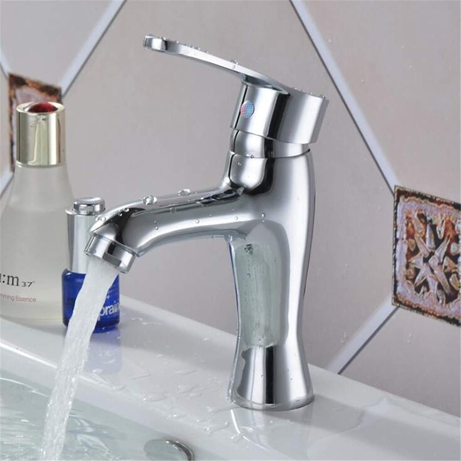 Basin Mixer Tap ?Hot and Cold Basin Single Hole Faucet Copper Red Arrow Mixer