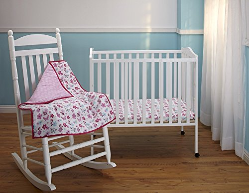 Minnie's Garden Parure de lit 3 pièces pour berceau