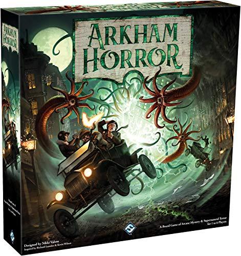 Arkham Horror 3rd Edition - Bordspel - Neem de rol van onderzoeker aan in dit coöperatieve spel - Voor Volwassenen - Taal: Engels